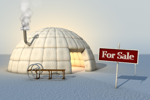 selling home winter